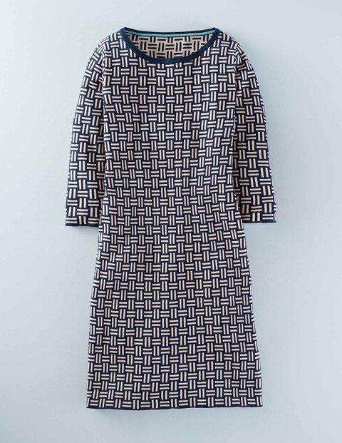 03ba5fc1 Jacquard Knitted Tunic Dress WW005 Dresses at Boden | Good looks ...