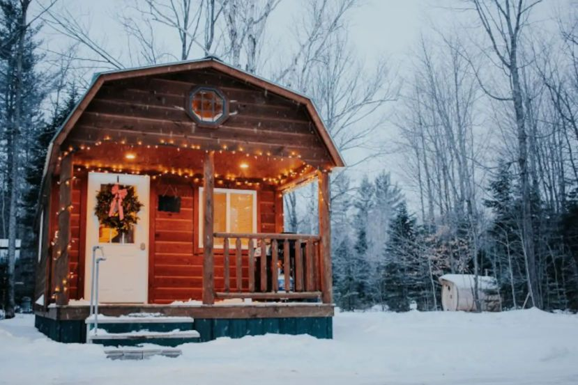29 Cozy Michigan Cabins To Rent For A Winter Getaway Michigan