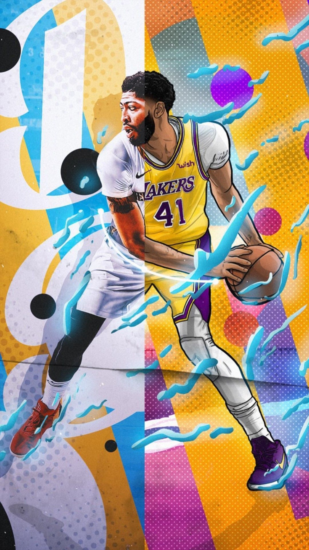 Lakers Wallpaper Iphone On High Quality Wallpaper On Snowman Wallpapers Com Iphone Android Wallpaper Lakers Nba Pictures Lakers Wallpaper Anthony Davis