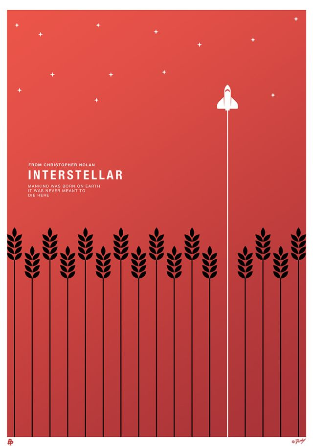 """Exclusive! Poster Posse Project #11 Heads For The Stars With A Tribute To Christopher Nolan's Sci-Fi Adventure: """"Interstellar"""""""
