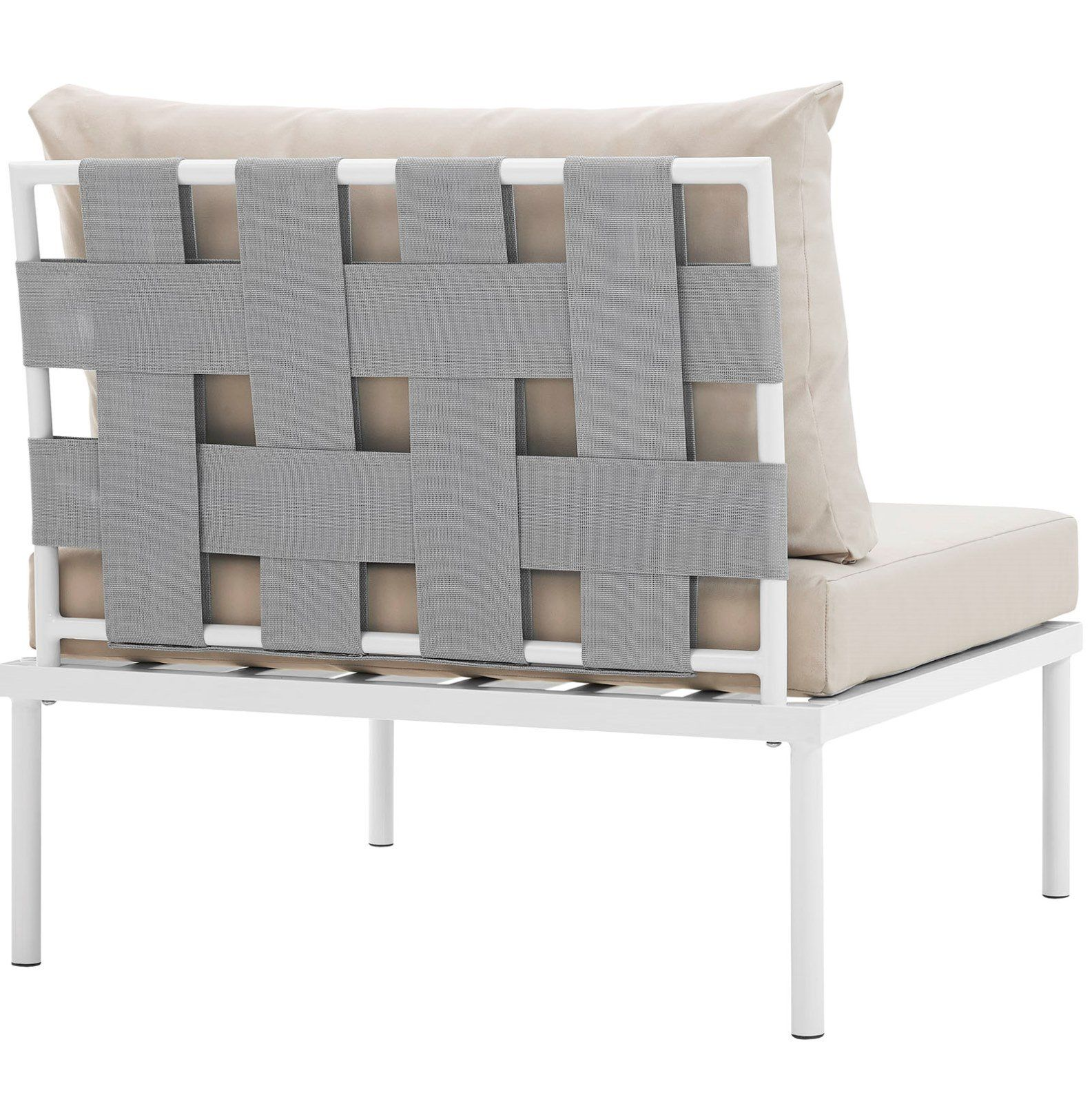 Modern Contemporary Urban Design Outdoor Patio Balcony Lounge Chair Beige White Rattan Visit The Image Link More Deta Modern Furniture Sets Tufted Dining Chairs Furniture