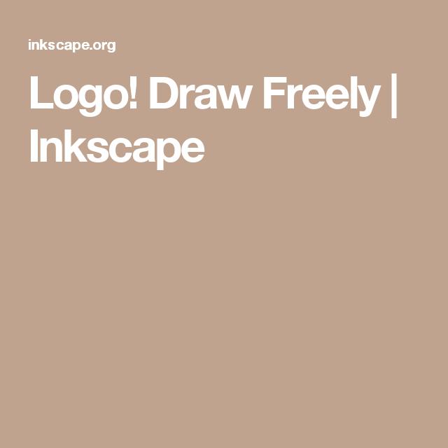 logo draw freely inkscape gimp tutorial vektorgrafik mac os vektordatei erstellen corel