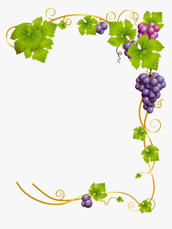 Pin By Diana Najdenova On Illustration In 2021 Clip Art Borders Clip Art Grape Vines