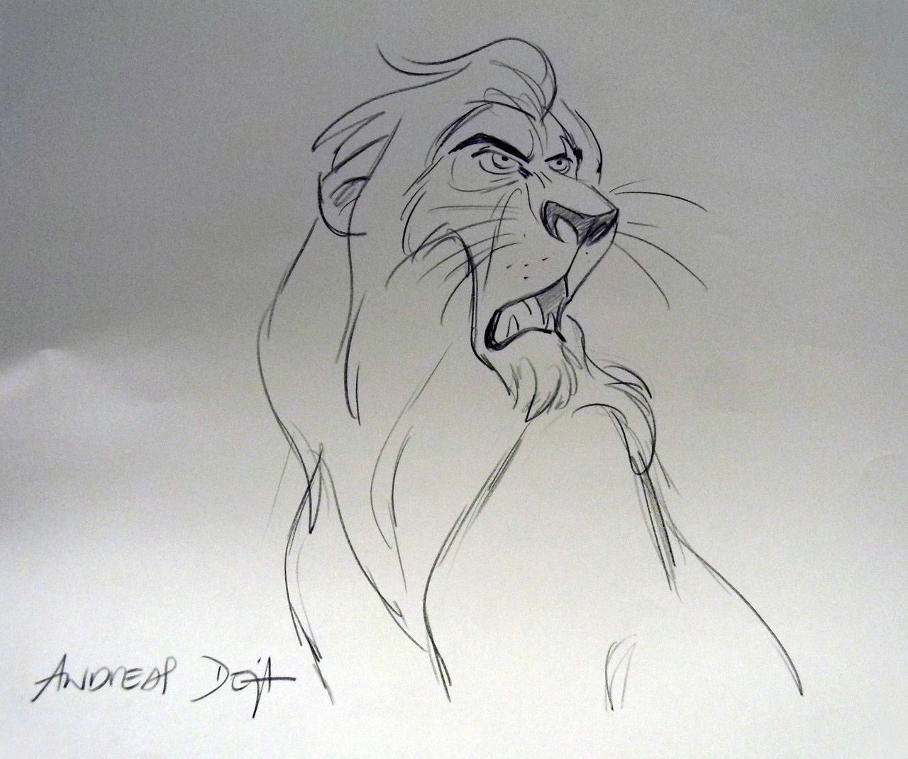 Living Lines Library The Lion King 1994 Character Scar