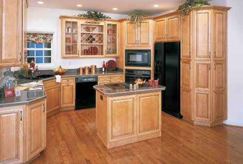 Great Haas Cabinets Monticello Style Shown In Maple