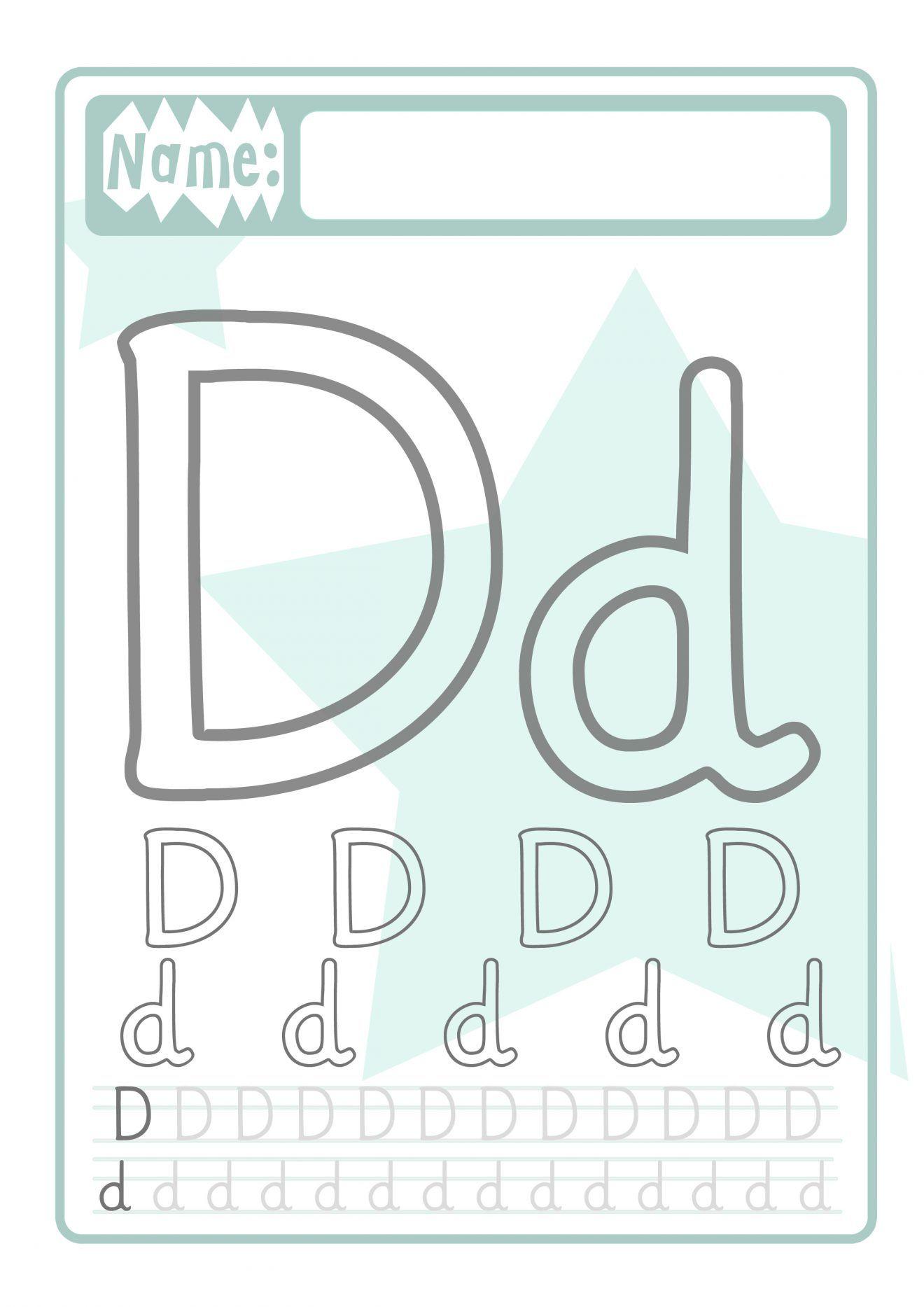 buchstaben druckvorlage für kinder  buchstaben