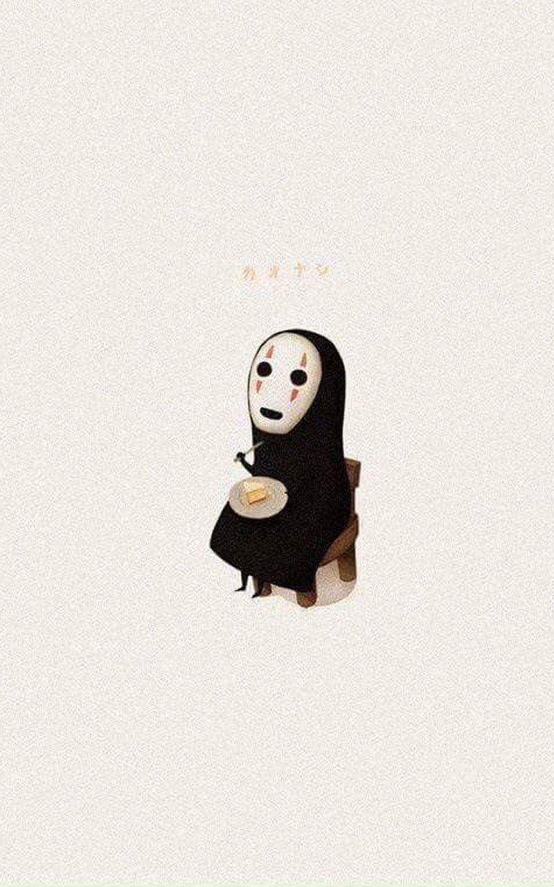 Kaonashi No Face In 2020 Spirited Away Art Spirited Away Wallpaper Attack On Titan Art