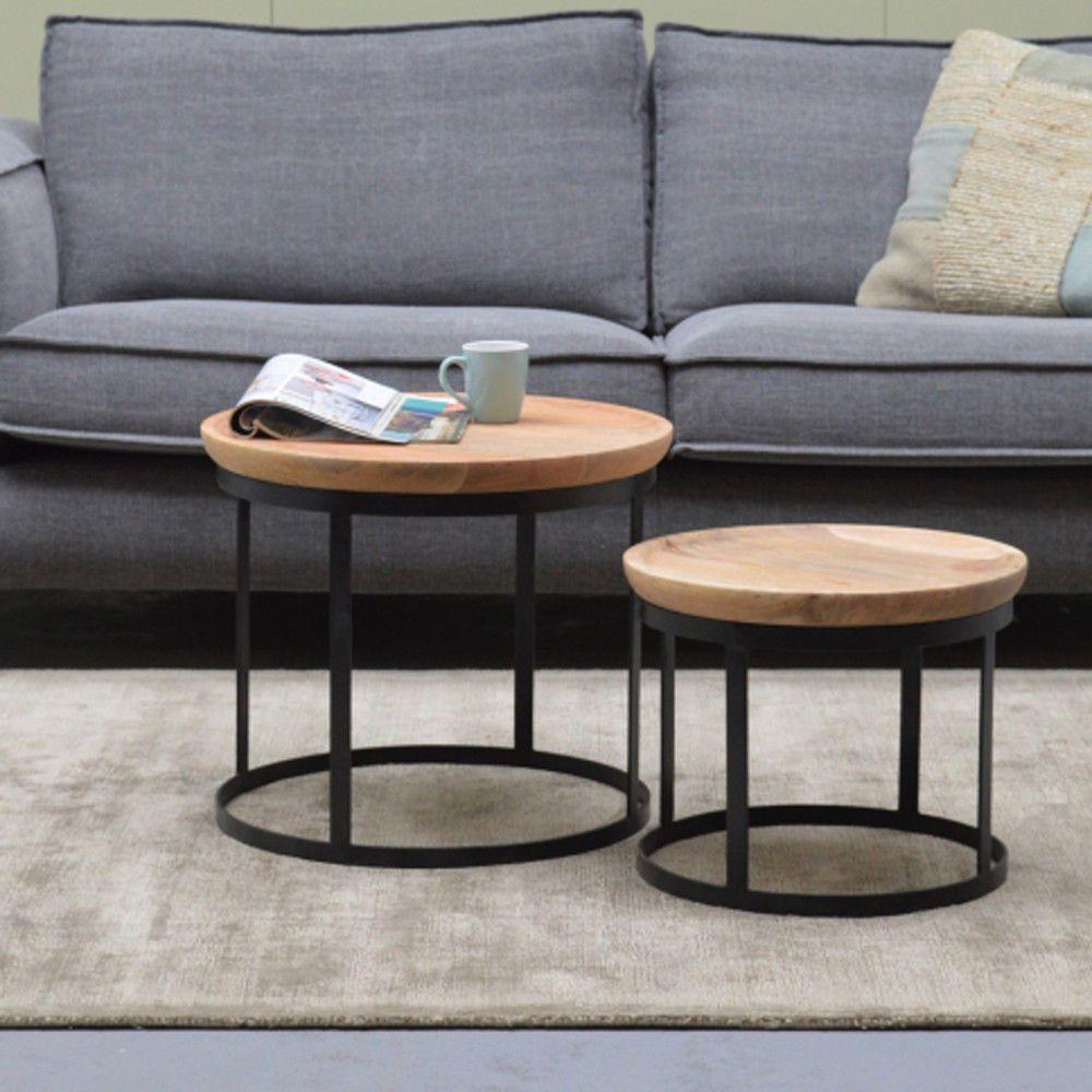 2er Set Couchtisch Duncan Metall Mango Satztische Beistelltisch Sofatisch Tische Mobel Wohnen Mobel Tische Ebay Couchtisch Metall Sofa Tisch Couchtisch