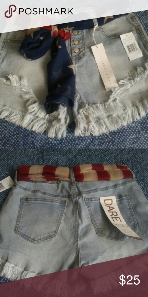 Shorts Celebrity Pink jean shorts, brand new. Celebrity Pink Shorts Jean Shorts