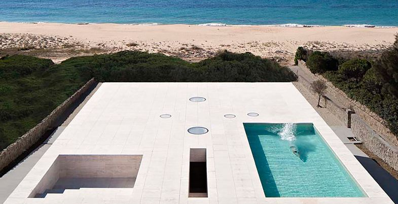 House of the Infinite by Alberto Campo Baeza Cádiz, Spain  from Platform Architecture and Design