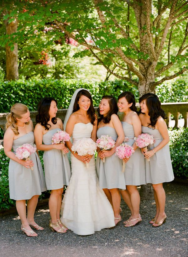 Napa valley wedding by lisa lefkowitz weddings pinterest grey and pink like the lighter shade actually more springy mightylinksfo