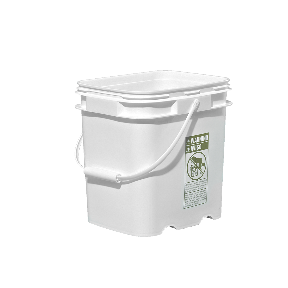 Illing Part 3e048 4 Gallon White Hdpe Ez Stor Pail W Handle Ez Stor Containers Are Available In An Assortment Of Sizes Colors And Cove Pail Gallon Handle