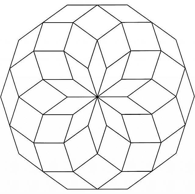 Mandala Disegno Da Colorare Gratis 22 Facile Semplice