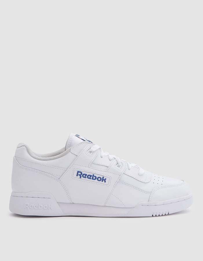 Reebok   Workout Plus in White Royal  6e8cdda8a