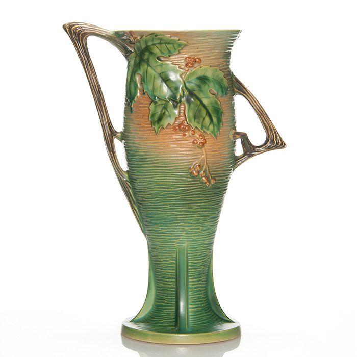 Roseville Keramik datiert Roman datiert mit der dunklen Bab 13