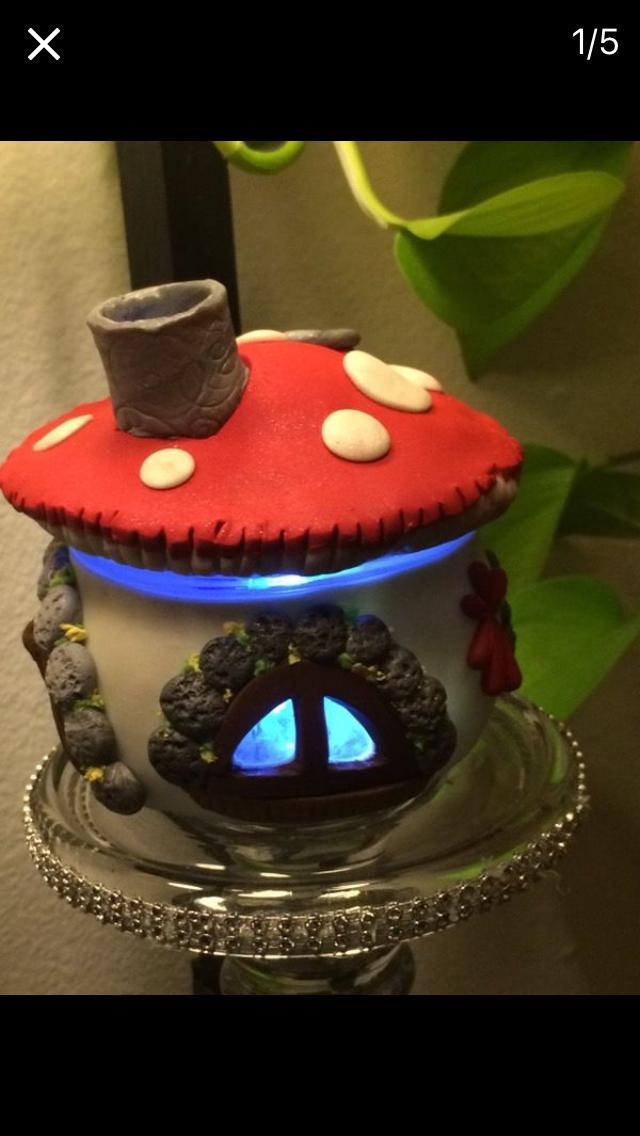 Smurfs House Censer مبخره بيت السنافر