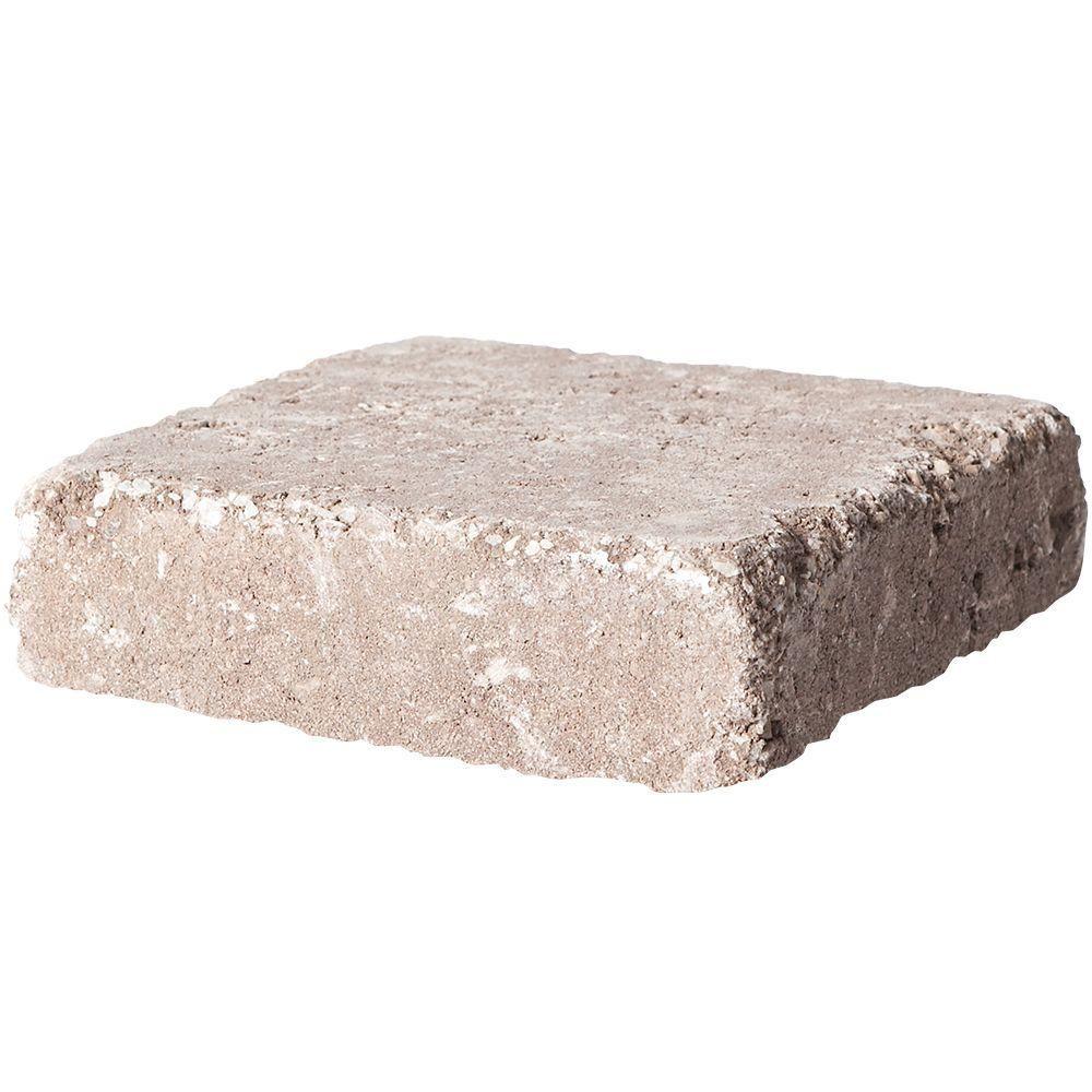 Pavestone 7 In X 7 In Cafe Rumblestone Concrete Paver