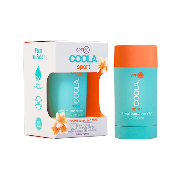 COOLA's Mineral Sport SPF 50 Tinted Sunscreen Stick
