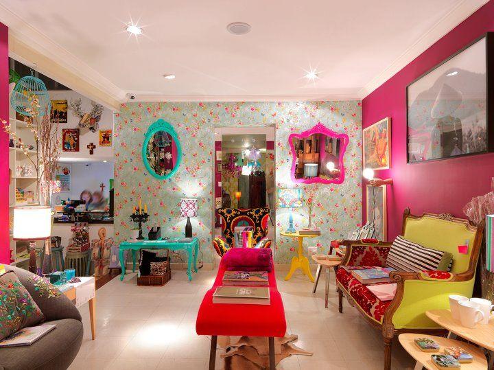 Coisas lindas, Coisas da Doris Ideias de Decoraç u00e3o Decoraç u00e3o de loja pequena, Fachadas de  # Decoração De Montras Em Ingles