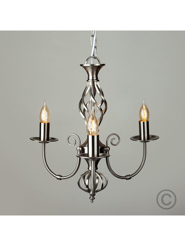 Vintage Twist Style 3 Way Ceiling Light | Chandelier Lighting ...