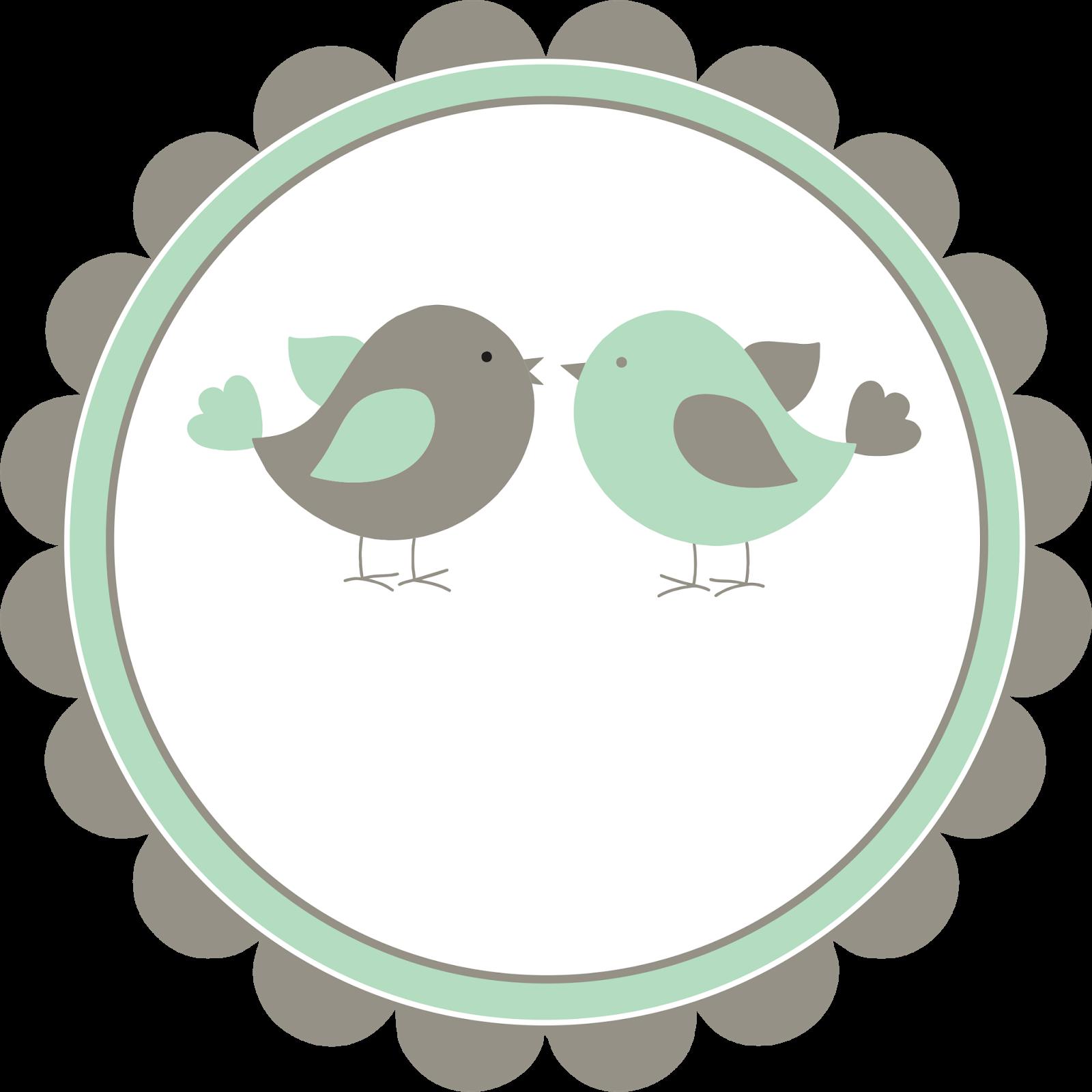 Logotipo grátis tema passarinhos | Etiquestas e tags | Pinterest