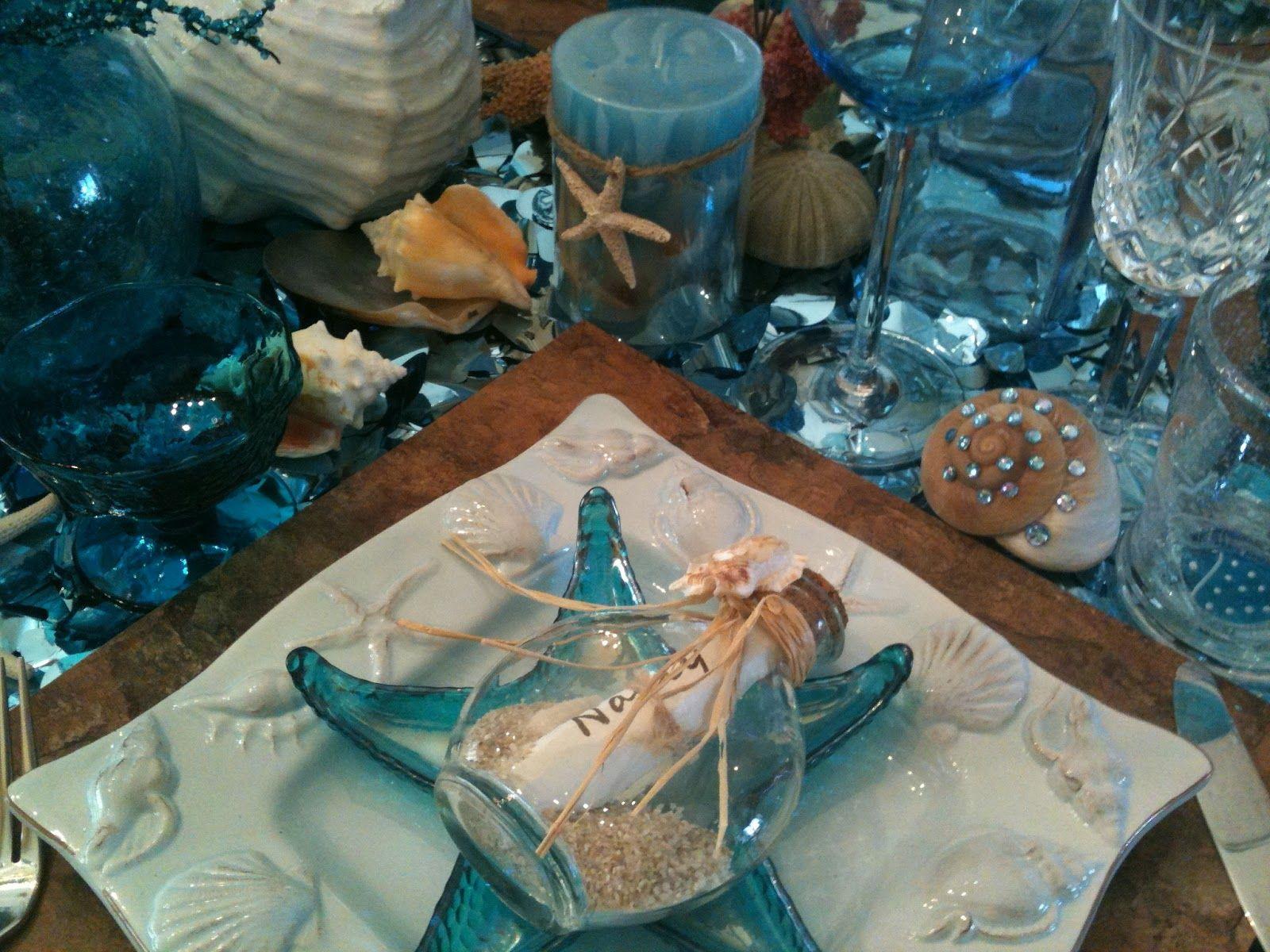beach themed dinner party