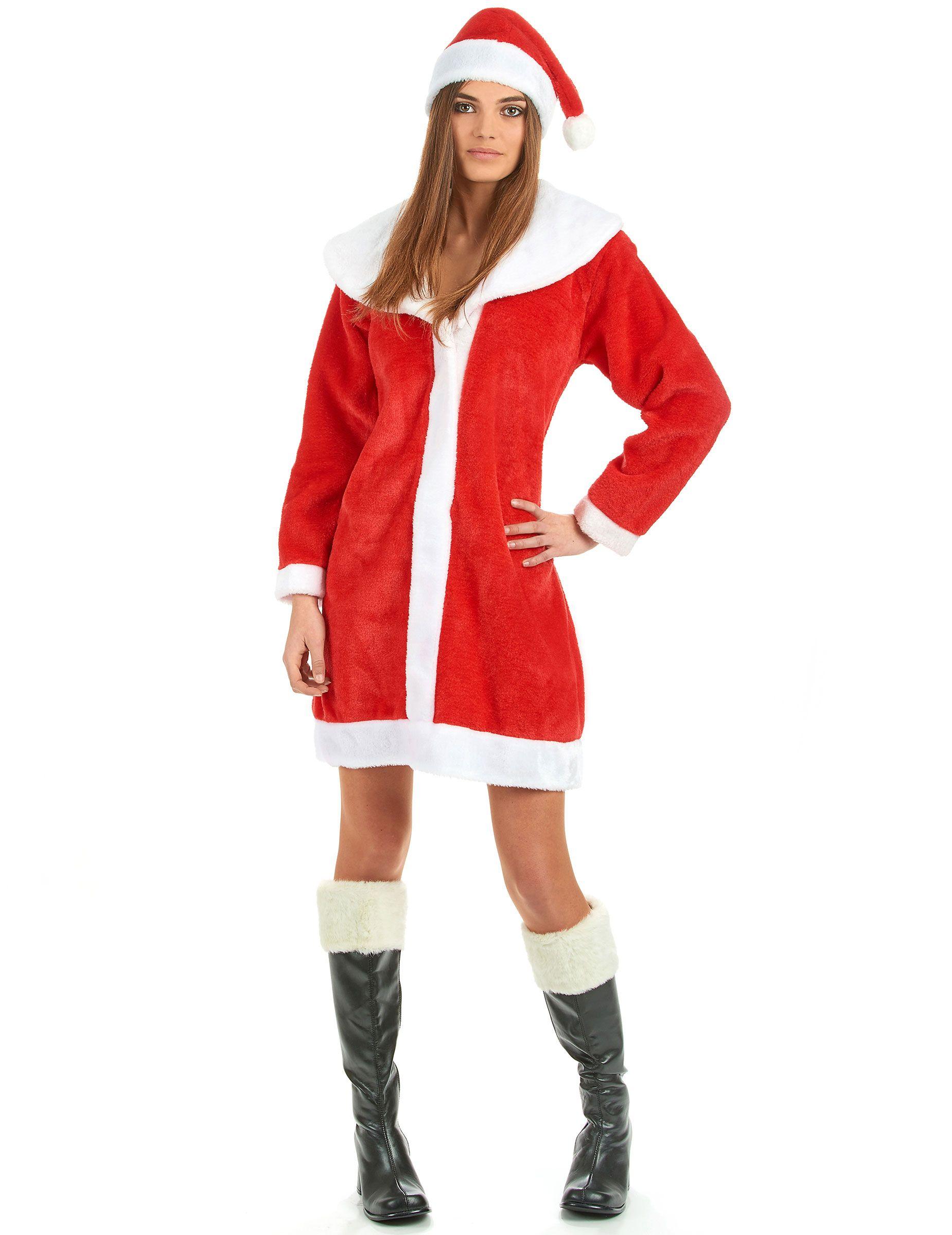 da320d837745 Weihnachtsfrau Kostüm für Damen Weihnachten Rot, Kostüme Erwachsene, Kostüme  Damen, Rot Weiss,