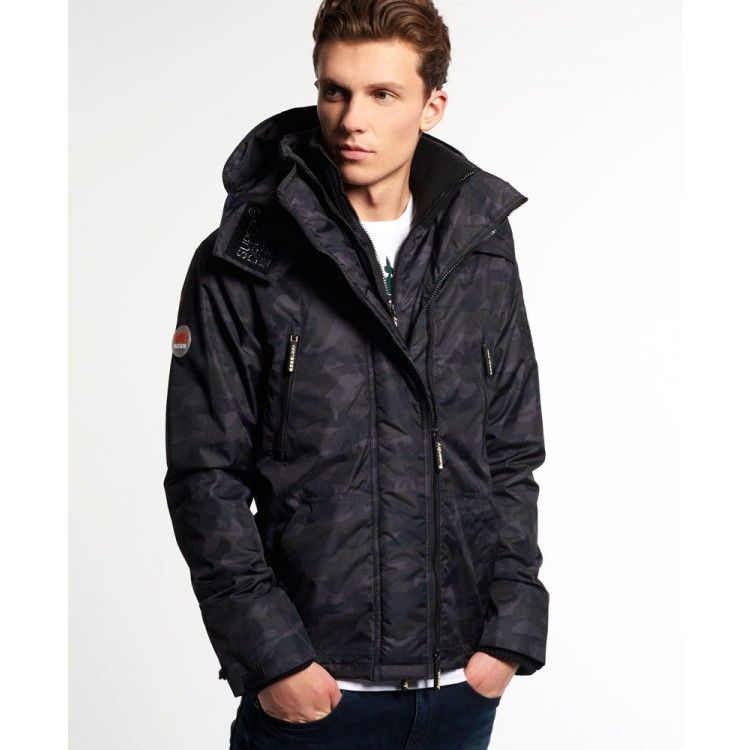 Superdry Hooded Arctic Wind Attacker Jacket | John