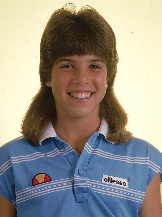 Female mullet. Watch this look come back when we've