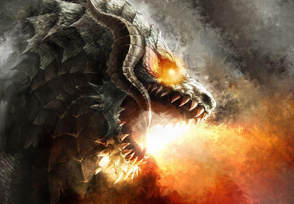 создания картинки дракон в гневе вас