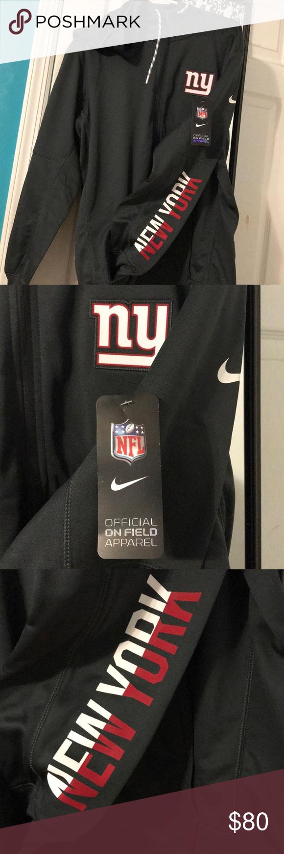 timeless design 73881 7144c NIKE New York Giants full zip sweatshirt NWT NFL NY giants ...