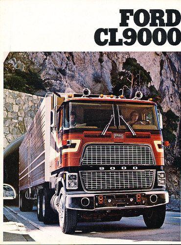 1979 Ford CL9000 Semi Truck Sales Brochure B2 | Camion