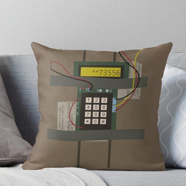 Cs Go Bomb Throw Pillow By Backlash92 Throw Pillows Printed Throw Pillows Pillows