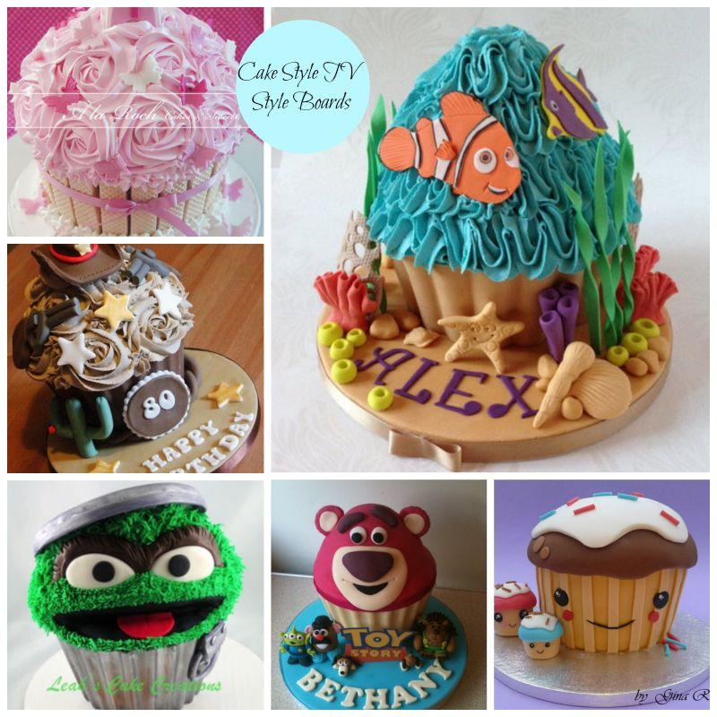 Blog Cake Style Giant Cupcakes Giant Cupcake Cakes Big Cupcake