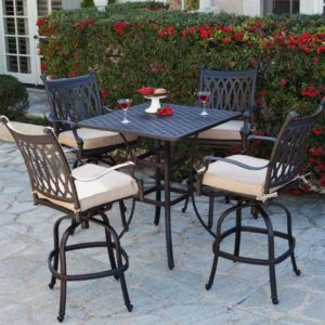 Tall Patio Table Sets