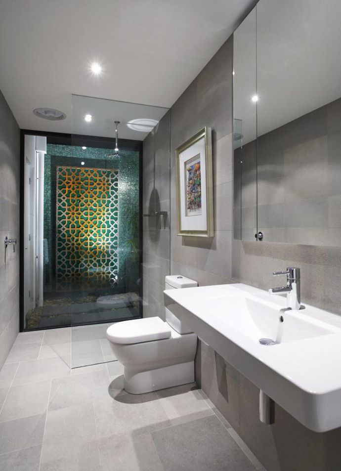Single Family Residence Balaclava Road House By C O S Design Modern Bathroom Remodel Modern Bathroom Design Contemporary Bathroom Designs
