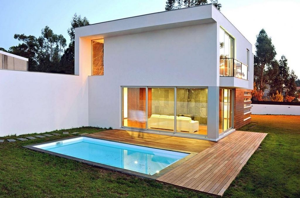 Charming Exterior House Design Styles Part 2 Small Swimming Pool