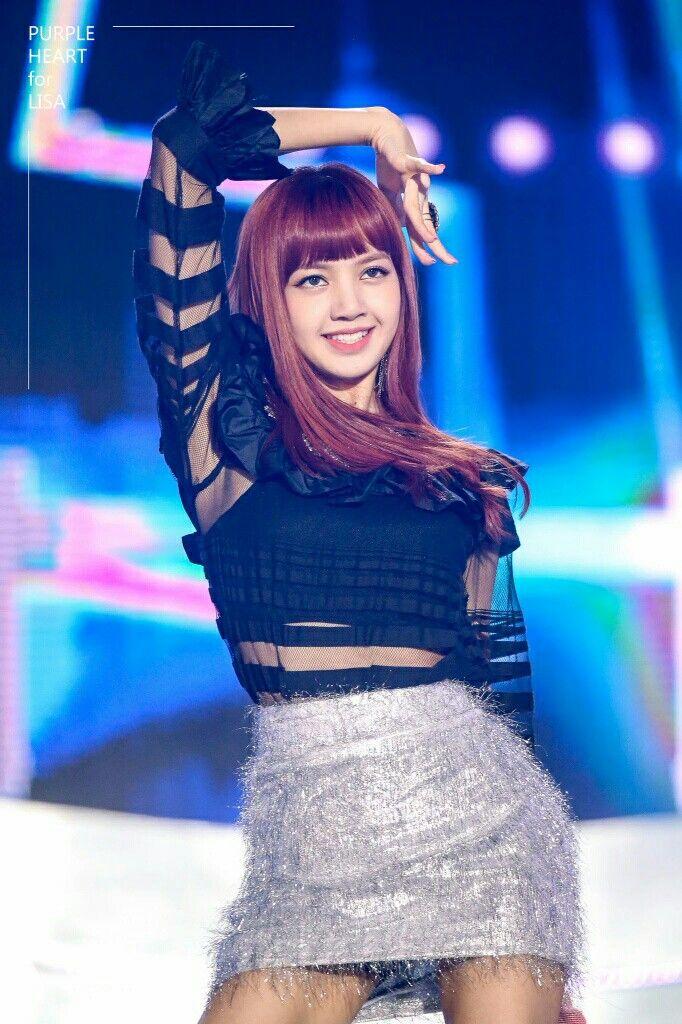Blackpink At Sbs Inkigayo Super Concert Blackpink Blackpink Lisa