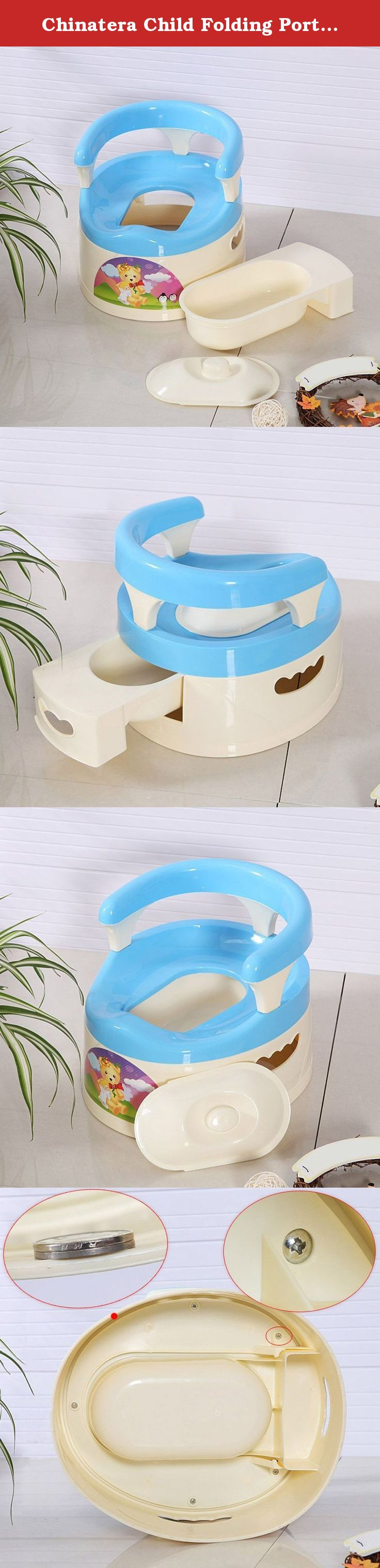 Potty Chair Large Child Chairs For Hip Pain Chinatera Folding Portable Drawer Carrying Toilet Baby Color Random Features 100