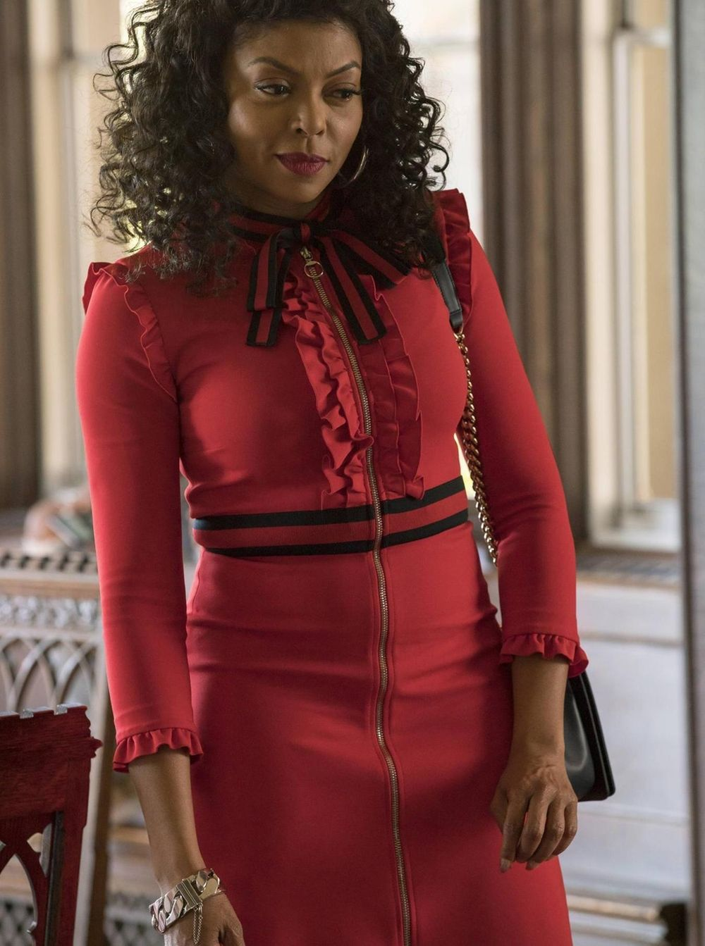 Gucci Viscose Jersey Dress as seen on Cookie Lyon in