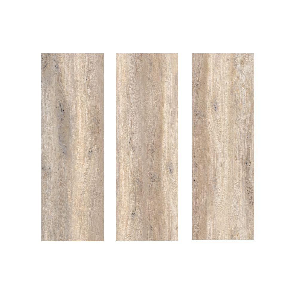 Dalles 2cm Imitation Bois 40x120 Castagno Grip Rectifie