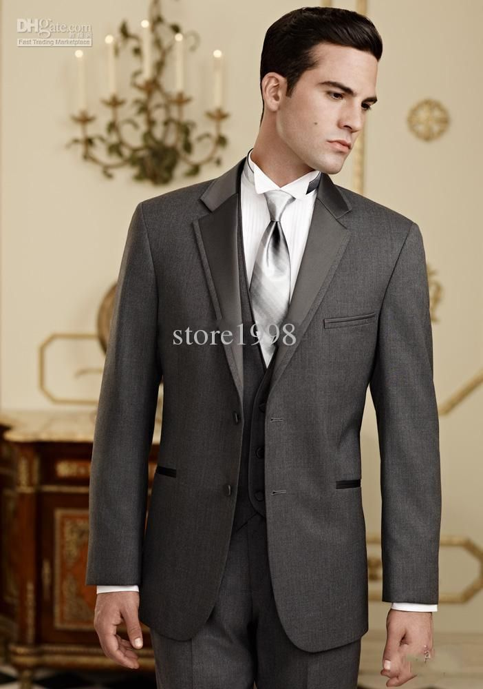 Men Designer Groom Suits/Bridegroom Wedding Suit Groom Tuxedos ...