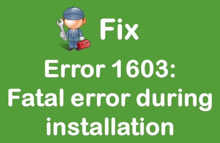 While installing Microsoft Windows Installer package, some