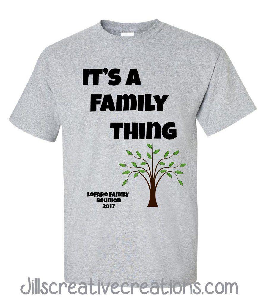 Family Reunion TShirt Family reunion tshirt design