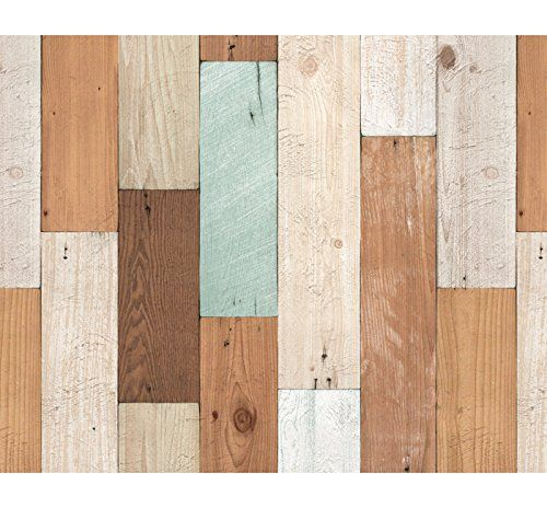 Vintage Colorful Wood Panel Pattern Contact Paper Self Adhesive Peel Stick Wallpaper Vbs Http Www Amazo Wood Wallpaper Stick On Wood Wall Peel And Stick Wood