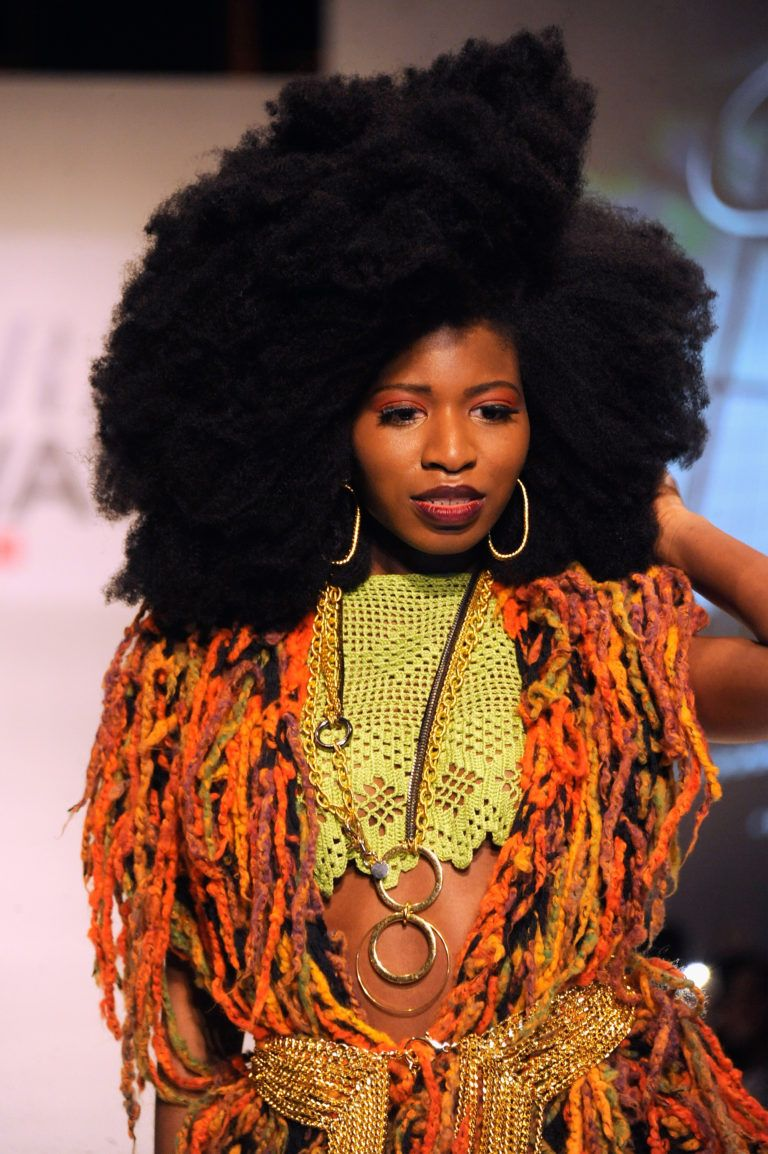 Texture On The Runway X Carols Daughter Check Out The Fro