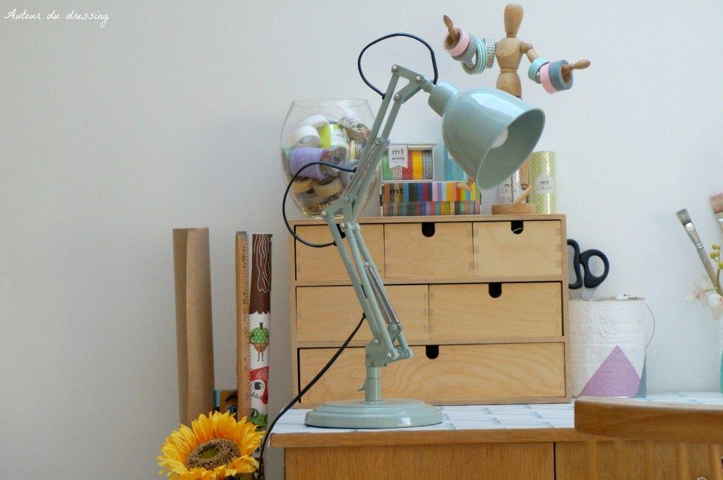 Deco lampe industriel vintage maison du monde chambre