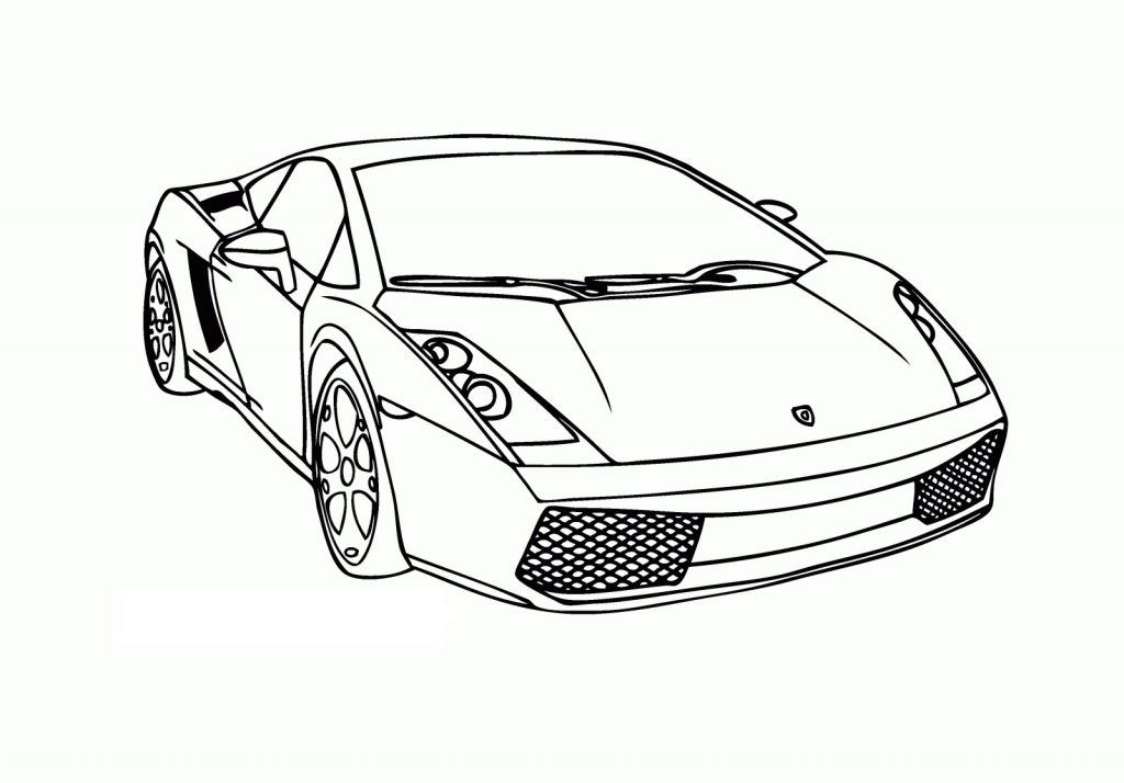 Free Printable Lamborghini Coloring Pages For Kids | Cars ...