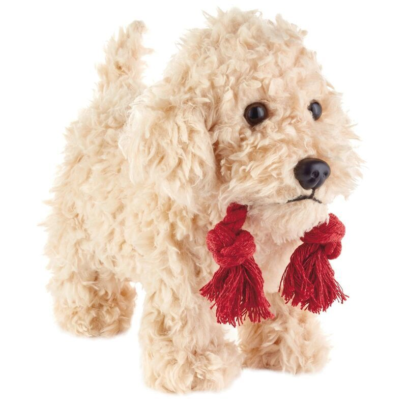 Pet N Play Golden Doodle Stuffed Animal With Sound And Motion 9