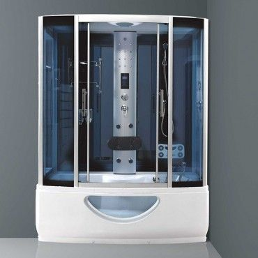 This High Tech Versatile Steam Shower Jacuzzi Enclosure Is The